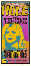 MINT & SIGNED Courtney Love HOLE 1995 Miami Arminski Poster MA0025