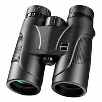 HUTACT Binoculars Compact for Adults, 10X42 Bird Watching, More Clear Light and