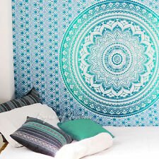 Queen Size Mandala Wall Hanging Tapestry Hippie Dorm Decor Bedspreads Throw Art