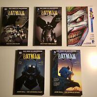 "DC Scott Snyder Batman Comic Reihe 1-9 Kpl. + Enrico Marini's ""Der dunkle Prinz"""