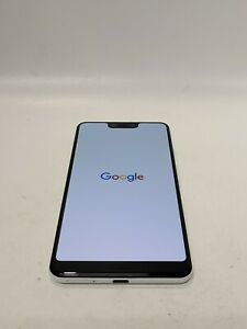 Google Pixel 3 XL - 128GB - Clearly White (Unlocked) Fair condition -R84