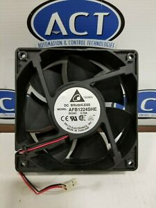 Delta Electronics AFB1224SHE 24V .75A 120 x 120 x 38mm Fan