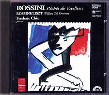Frederic CHIU: ROSSINI Sins of Old Age William Tell A Nightmare Souvenir Man CD