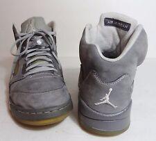 Nike Air Jordan 5 V Light Graphite White Wolf Grey 2011 Men's Size 11 us 45 eu