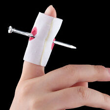 Hot Sale Magic Nail Through Finger Bloody Bandage Trick Fancy Toys