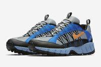 Mens Nike Air Terra Humara 17 Sneakers New, Gray Silver / Spark Blue AO3297-001