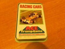 VINTAGE ACE TOP TRUMPS CARD GAME- RACING CARS