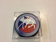Radim Vrbata Signed Team Czech Republic Hockey Puck Autographed a