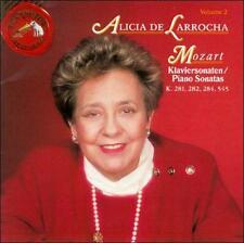 Mozart: Sonatas ALICIA DE LARROCHA K. 281, 282, 284, 545 (CD RCA 1991)