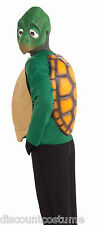DELUXE ADULT TURTLE HALLOWEEN ANIMAL COSTUME SIZE STANDARD - MASK, SHIRT & SHELL