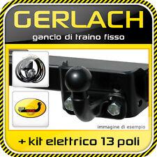 Mercedes ML W163 1998-2005 gancio di traino fisso + kit elettrico 13 poli