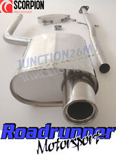 Scorpion Mini Cooper One R50 Exhaust Cat Back Stainless System Non Res SMNS001