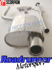 SCORPION MINI COOPER ONE R50 Gatto Di Scarico posteriore inox sistema non RES smns 001