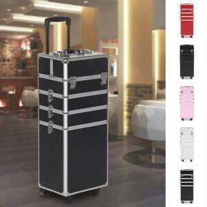 Large Makeup Case Trolley Cosmetic Vanity Storage Organiser Case for Hairdresser