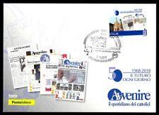 Italy 2018: future-Postcard whew. Poste Italiane