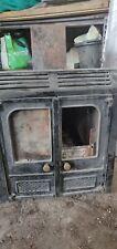 Charnwood LA45 Wood / Multi-fuel heating stove back boiler burner fire.