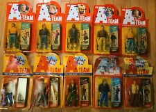 👀 LOT OF 10 A-TEAM FIGURES VINTAGE 1983 SEALED MOC GALOOB ACTION FIGURES MR T