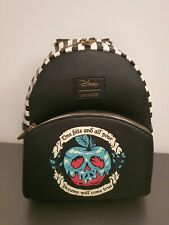 Loungefly Disney Snow White Evil Queen Poison Apple Mini Backpack - BNWT