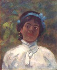 ARGENTINA. A little Guarani-Spanish girl, Corrientes 1908 old antique print