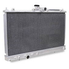 40mm ALLOY TWIN CORE RADIATOR FOR MITSUBISHI EVO 7 8 9 FQ340 MR 4G63 CT9A TURBO