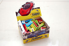 TURBO 2014 BOX WITH 100 GUMS GUM WRAPPERS STICKERS ALL COLORS