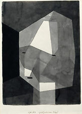 Paul Klee Reproduction: Rough-Cut Head - Fine Art Print