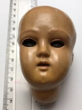 VERY RARE 1930's transitional (Post Bisque) celluloid doll's Head with Eyes