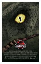Jurassic Park Movie Poster 11x17in / 28x43cm Jeff Goldblum Laura Dern Sam Neill