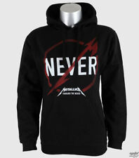 Metallica - Never Logo Pullover Hoodie   Free Shipping