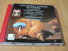 Savall - Songs and dances - Canciones y Danzas - Hesperion XX, CD EMI W-Germany