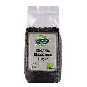 Organic Black Rice 500g Certified Organic