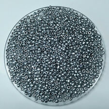 1000PCS 2MM Size Silver Glass Cream Seed Spacer beads Jewelry Fitting  DIY