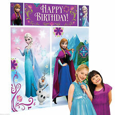 5pc Disney Frozen Princess Scene Setter Girls Birthday Party Wall Decorations
