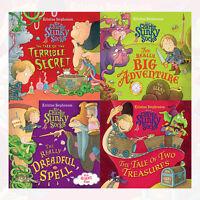 Kristina Stephenson Collection Sir Charlie Stinky Socks 4 Books Set Brand New PB