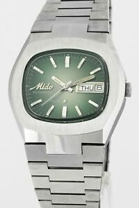 MIDO Multi Star Day Date Automatic Vintage Mens Wrist WatchNew Old Stock