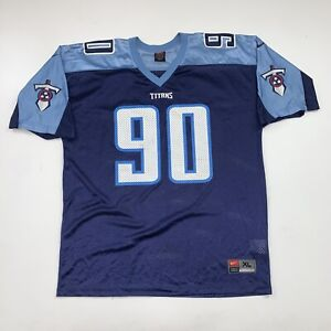 Vintage Nike Jevon Kearse Tennessee Titans NFL Football Jersey Size XL