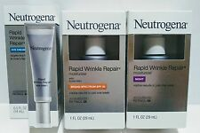 NEUTROGENA RAPID WRINKLE REPAIR 3 PC SET Moisturizer + Eye Cream + Night Cream