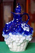Vintage Porcelain Carafe Grape USSR Minsk Porcelain Factory