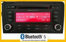 Original Audi A3 8P Symphony Web Radio Bluetooth 5.0 AUX Mp3 6 Fach Cd Wechsler