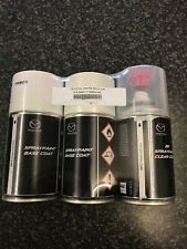 MAZDA CRYSTAL WHITE PEARL 34K SPRAY PAINT AND LACQUER GENUINE PART 250ML