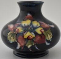 Wonderful Moorcroft Pottery Clematis Flowers Vase