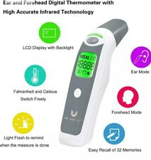 Latest Ear Thermometer Digital Adult Baby IR In-Ear InfraRed LCD Temperature