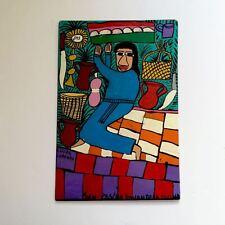 Folk Art Retablo by Lorenzo Family #55 San Pascual