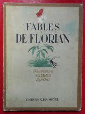 FABLES DE FLORIAN ILL ARMAND RAPEÑO ALBIN MICHEL1949