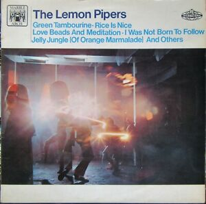 THE LEMON PIPERS Self Titled LP PYE Int 1968 Excellent Green Tambourine etc