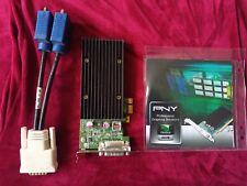Tarjeta de Gráficos PNY NVIDIA Quadro NVS 300 PCIe x1 512mb GDDR 3 perfil bajo, Cable Y