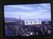 1971 USMC Marines Camp Fuji Chapel - Japan - Vintage 35mm Slide