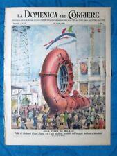 La Domenica del Corriere 24 aprile 1949 Fiera Milano - Torino - Fiamme Gialle
