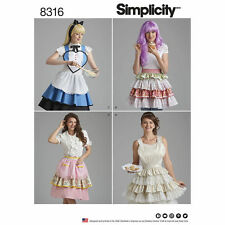 Simplicity Sewing Pattern 8316 Misses Aprons S M L