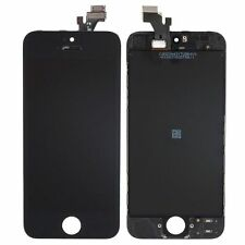 LCD DISPLAY + TOUCH SCREEN DIGITIZER ASSEMBLY per iPhone 5 5G  NERO A1428 A1429